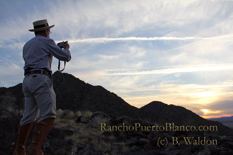 Dr. Krupp surveys the horizon
